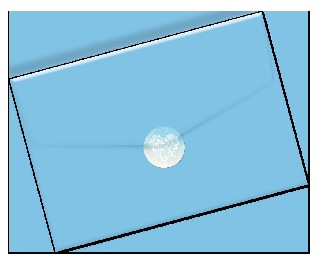 Envelope sluitzegel
